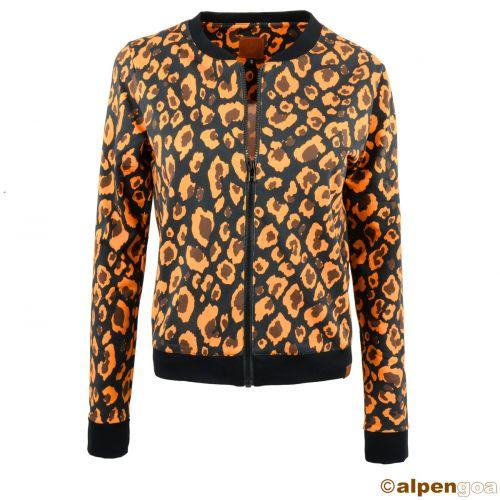 Blouson Jacke im Animal Print